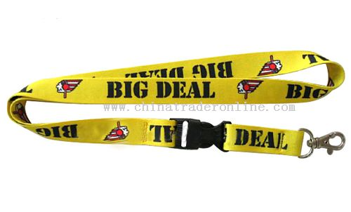 Heat-translate printing Lanyard