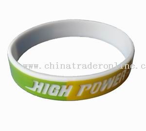 Silk-printing bracelet