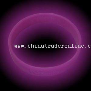 UV silicone bracelet from China