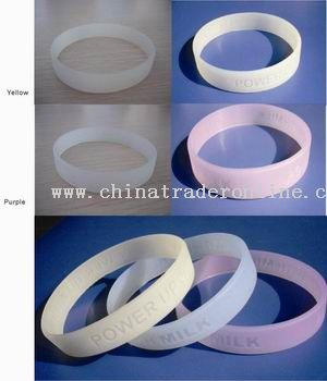UV silicone bracelet