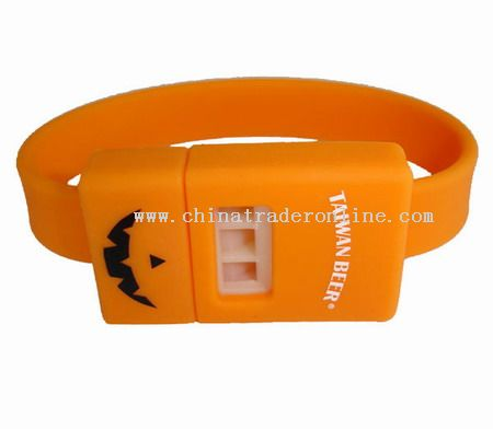 Whistle silicone bracelet