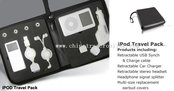 iPod iPhone Travel Pack