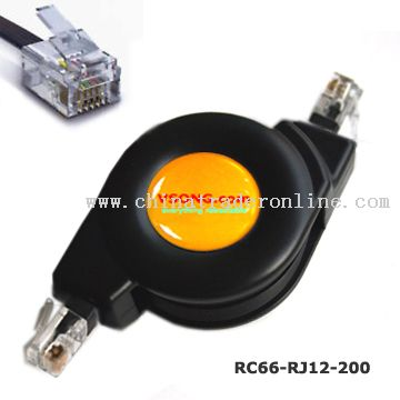 Phone & Modem Retractable Cable from China