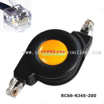 RJ45 Ethernet Retractable Cable