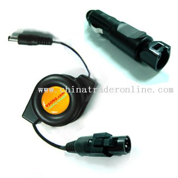 Retractable power cable