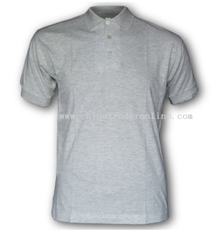 100% Cotton Jersey Fabric Polo T-shirt