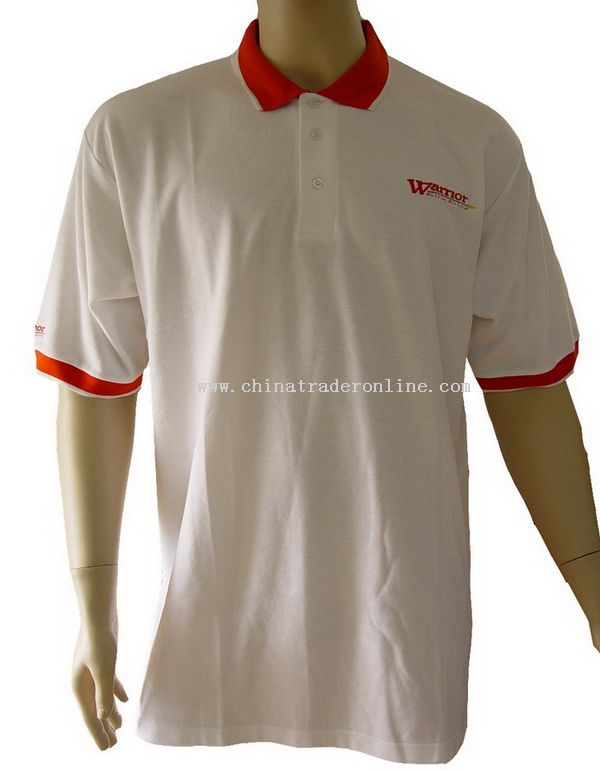 Embroidery polo T-shirt from China