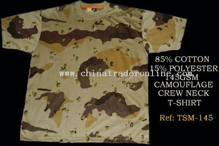 MENS CAMOUFLAGE T-SHIRTS
