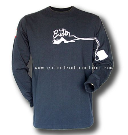 Preshrunk Long Sleeves T-shirts from China