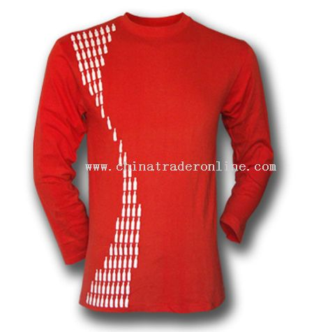 Wholesale promotional long sleeves t shirt buy discount for Cheap promo t shirts