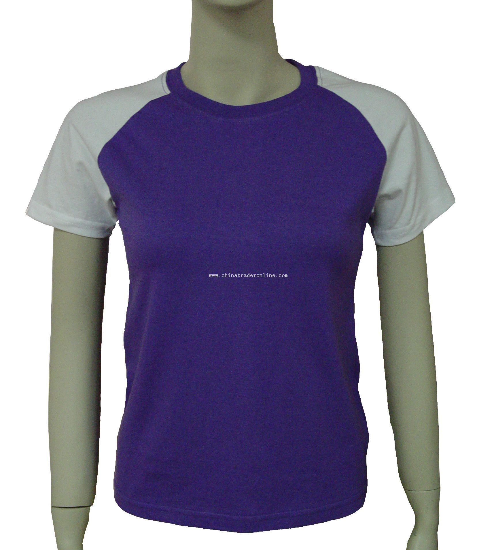 round neck printing T-shirt