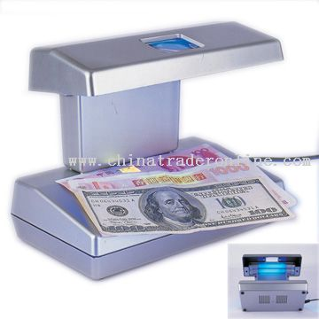 Banknote and Counterfeit Money Detector with Built-in Magnifier from China