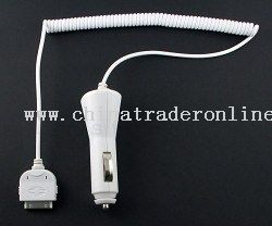 Car Charger for iPod/Mini/Nano/Video