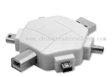 Multi-function USB Adapter(6 in 1)