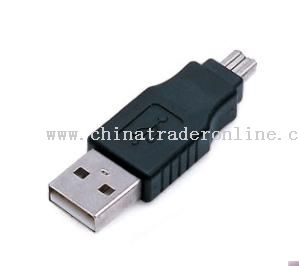 USB A M to 1394 4pin M Adapter from China