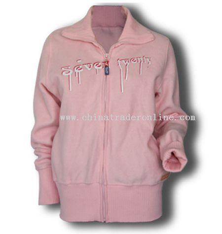 Ladies Full Zipper Sweat Shirt