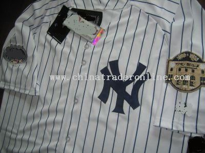 Jeter from YANKEES All star patch baseball jerseys