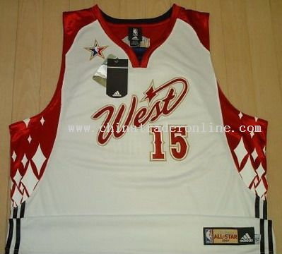 West NBA Jersey from China