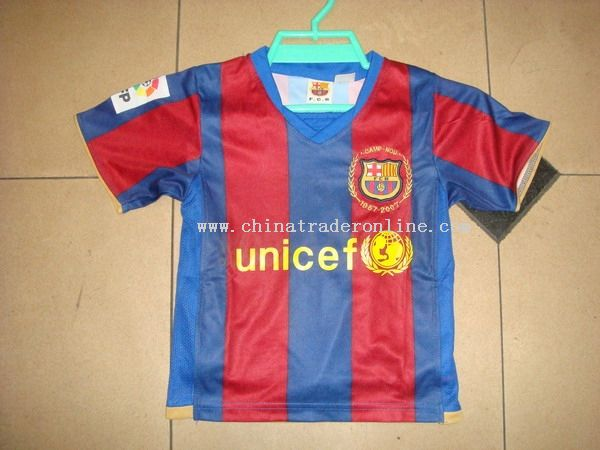 europe club brand football jersey from China
