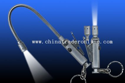 hand-free flexible LED torch from China