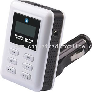 Car MP3 FM transmitter with bluetooth car kit function