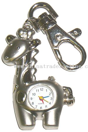 Giraffe Keychain Watches