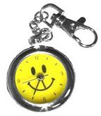Happy Face Keychain Watches