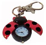 Ladybug Keychain Watches