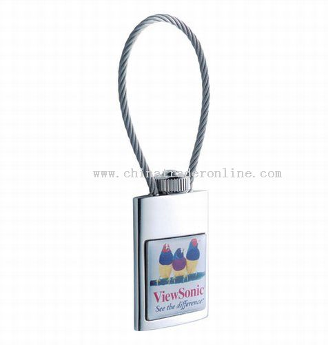 Nickel Cable Epoxy Keytag