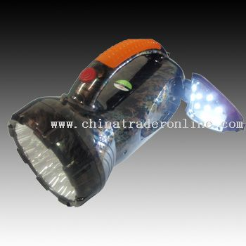 Rechargeable LED Flashlight from China