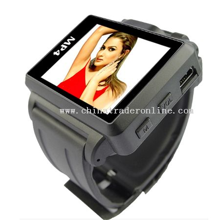 1.8 Inch 1GB MP4 Watch with FM, New style