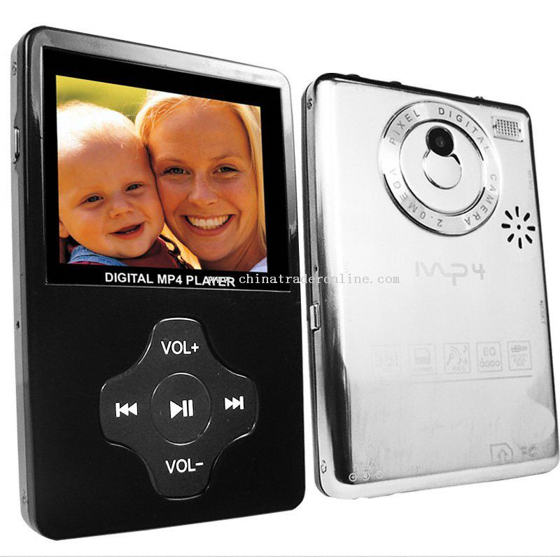 2.4 inch Screen 1GB Elite MP4 Player with Camera + SD Slot
