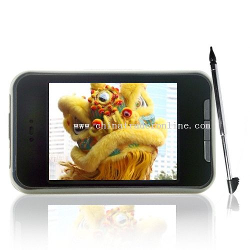 2.8 Inch 1GB 1.3M pixel camera high clear QVGA touch screen MP4 FM record