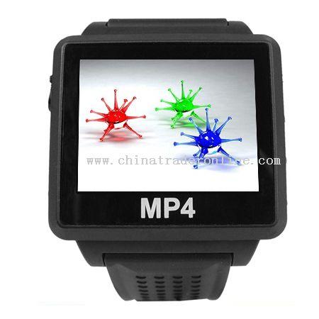 Bluetooth MP4 Watch 4GB With Bluetooth Headphone