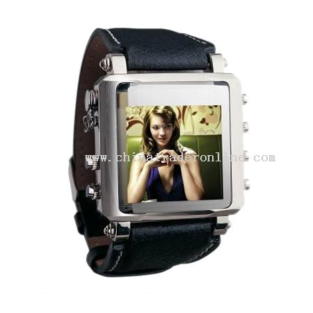 Brand new mp4 watch, Best gift for friend!1GB,sophisticated design from China