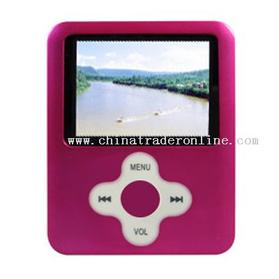 New style 1.8 inch 2GB 3rd mp4 260K TFT MP4 FM stereo radio and recording