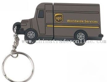 UPS PVC usb flash drive