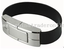 leather bracelet usb flash drive