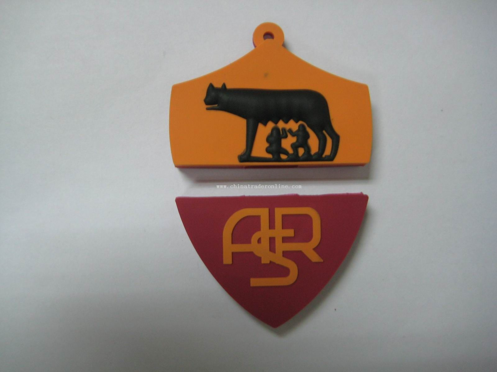 new design shield shape usb disk