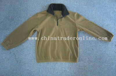 Anti pilling fleece jacket