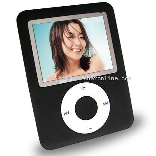 Touch screen MP5 player-2GB-1.3 MP digital camera-2.8 inch screen-FM radio-Mini SD card slot