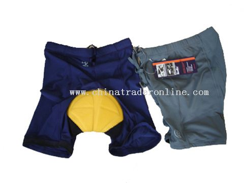 bike shorts with Du Pont coolmax pad