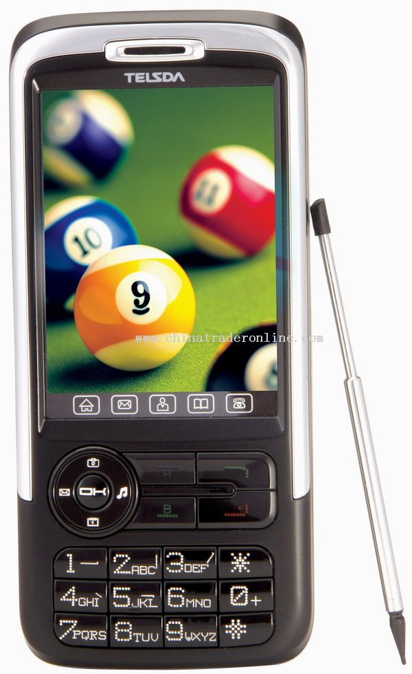Dual sim cards mobile phone with bluetooth