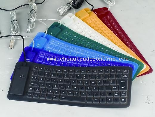 85keys silicone keyboard