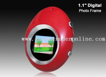 1.1 inch digital photo frame