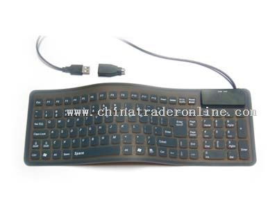 109keys silicone keyboard