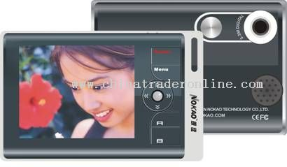 Built in 3.3 Mega pixels Video Camera Digital Photo Frame