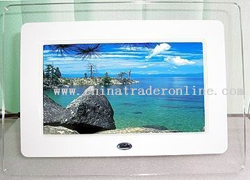 7-inch16:9 size Active Matrix TFT LCD display Digital Photo Frame