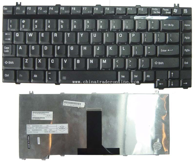 Notebook Keyboard