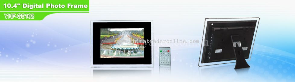 10.4 TFT Screen digital photo frame